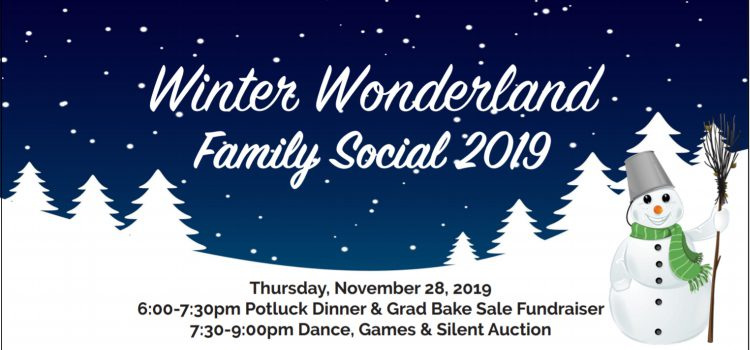 Winter Wonderland Family Social 2019