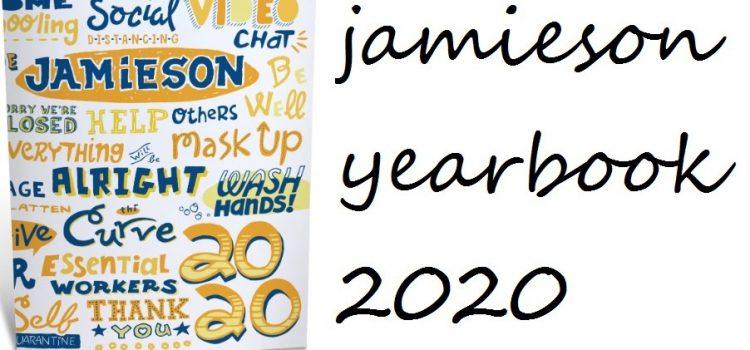 Jamieson 2020 Yearbook